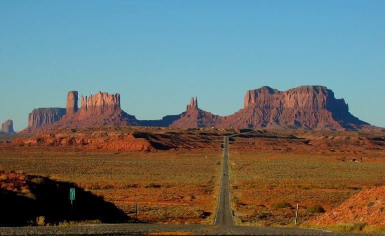 Roadtrip USA Monument Forest Gump