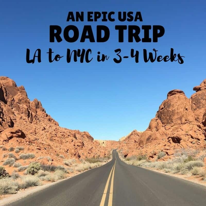 USA Roadtrip | Roadtrip Itinerary | 4 Weeks USA Itinerary | 3 Week USA Itinerary | Road trip | USA Road Trip