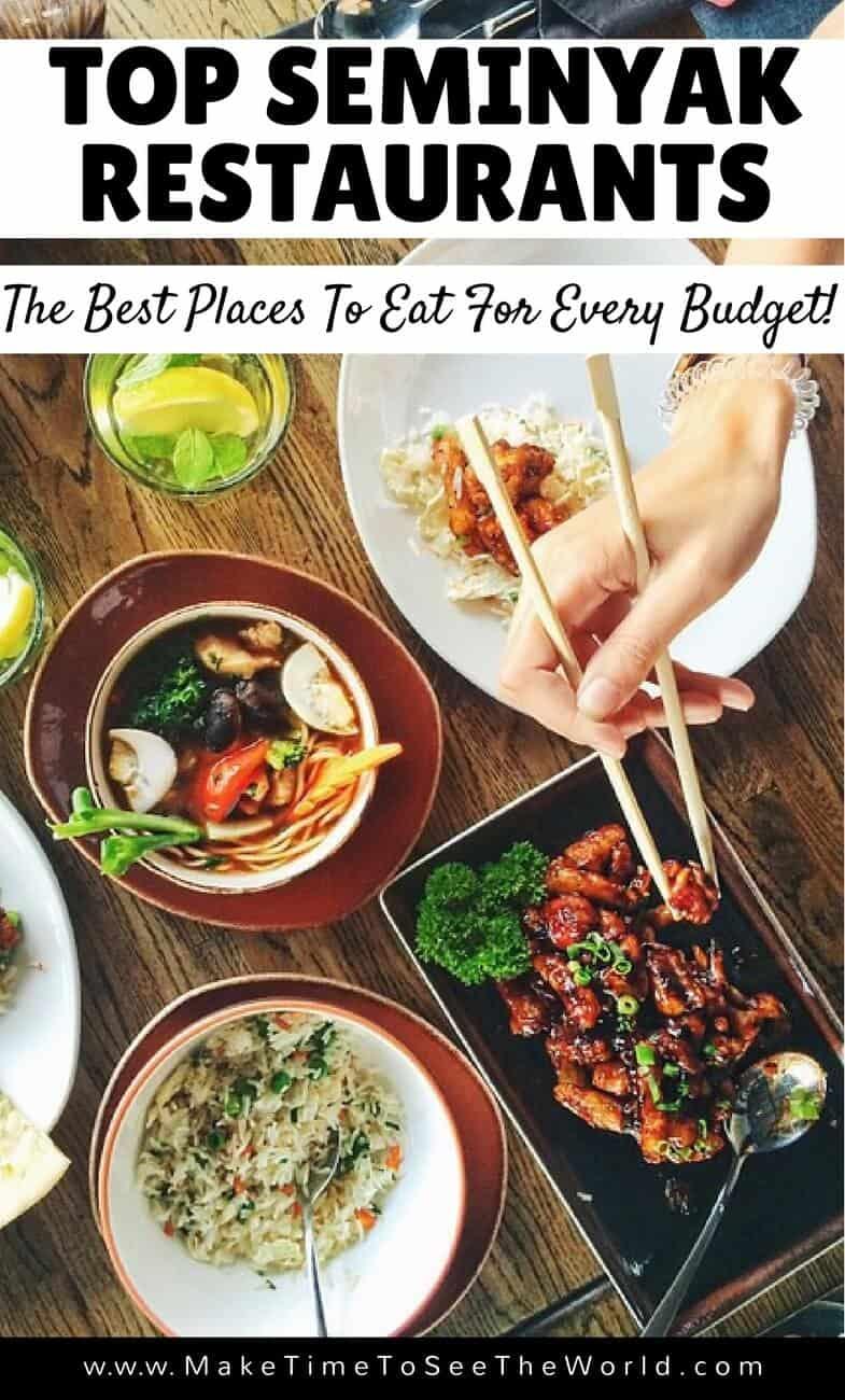 Seminyak Restaurants - Best Places to eat in Bali