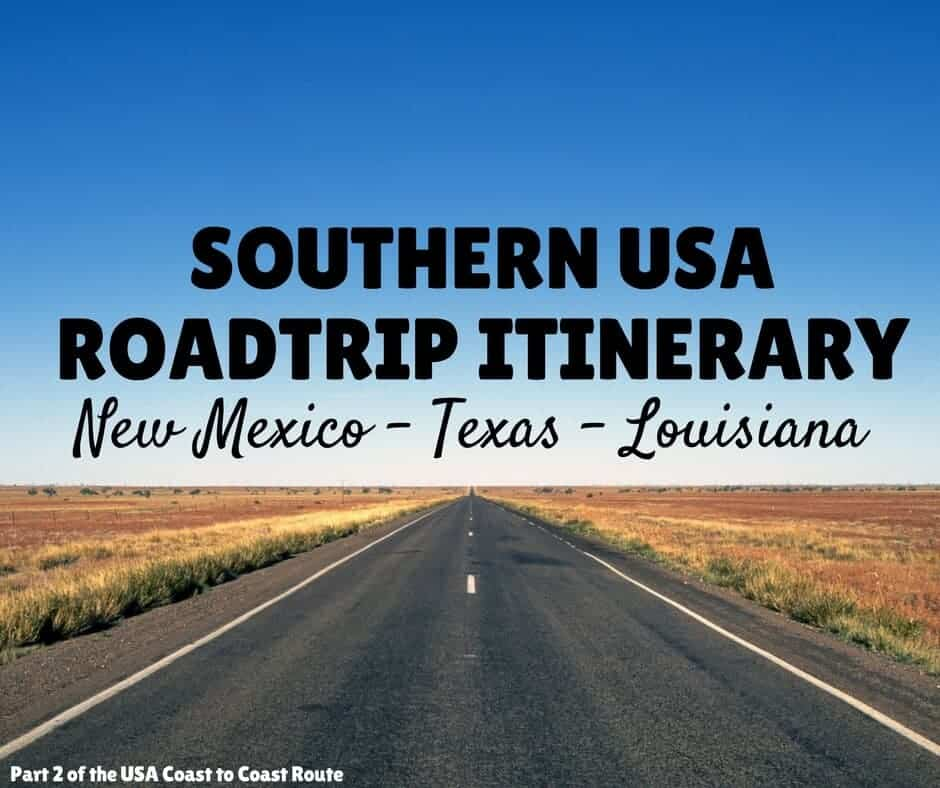 USA Itinerary 3 Weeks South USA Roadtrip