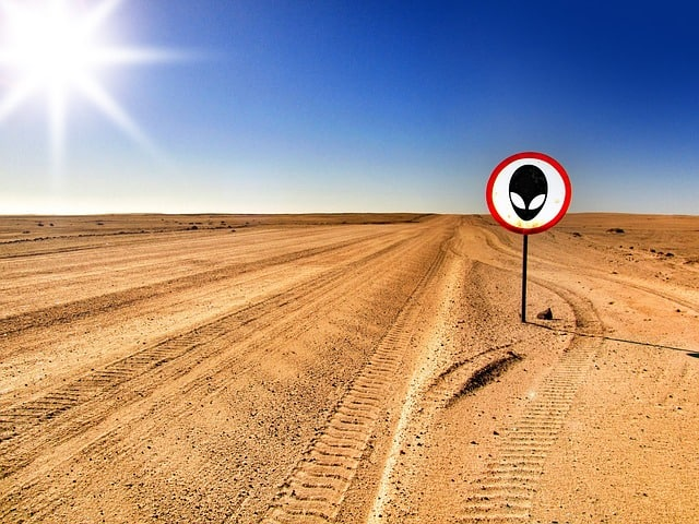 Road trip in south USA - Roswell New Mexico