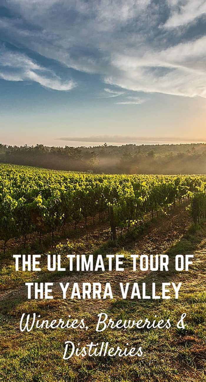The Ultimate Tour of the Yarra Valley, Melbourne: Wineries, Breweries & Distilleries