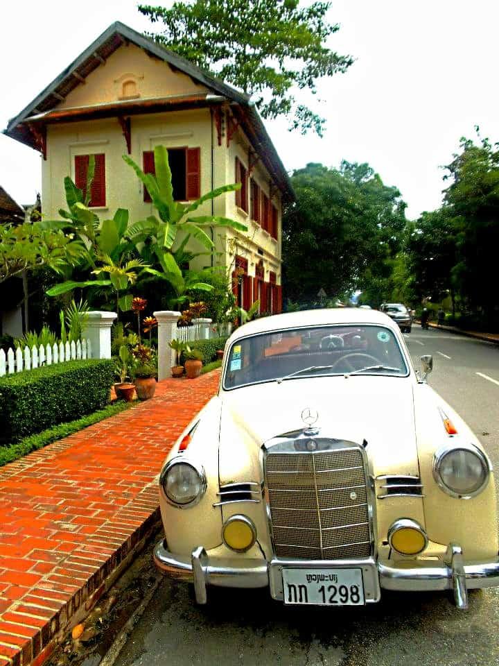 Colonial Buildings in Luang Prabang