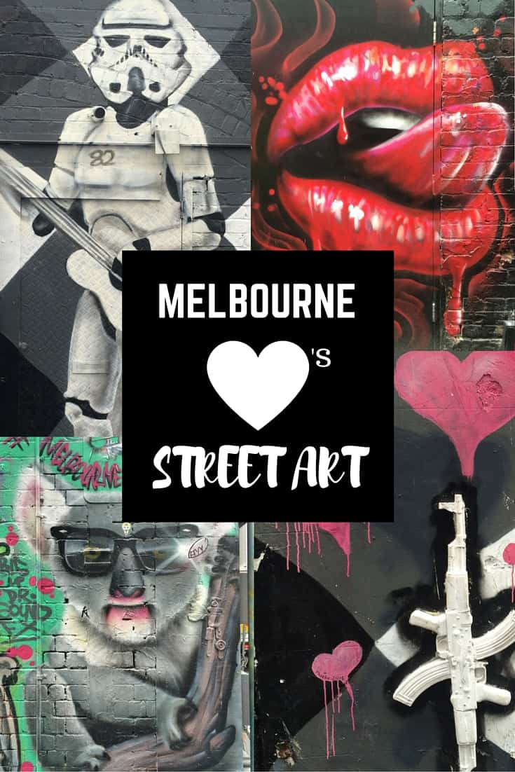 Melbourne LOVES Street Art