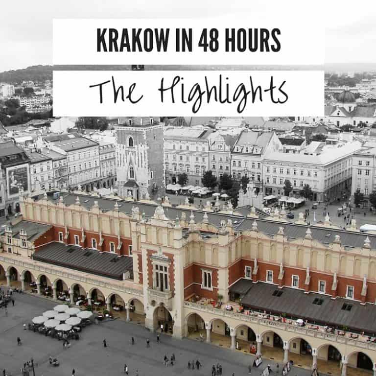 Krakow 48 Hours Highlights