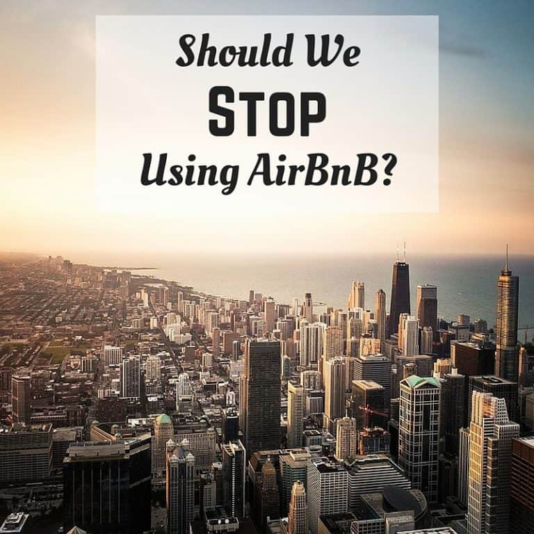 Stop Using AirBnB