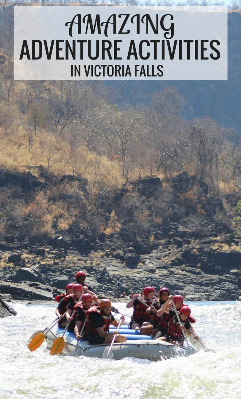 Top Adventure Activities in Victoria Falls