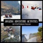 Top 9 Adventure Activities in Victoria Falls