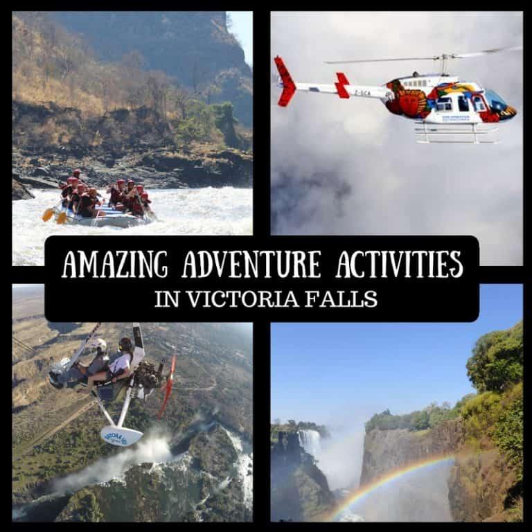 Adventure Activities Victoria Falls