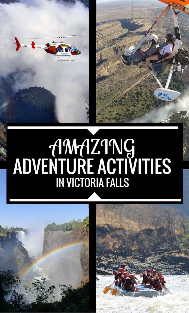 Top Adventure Activities in Victoria Falls