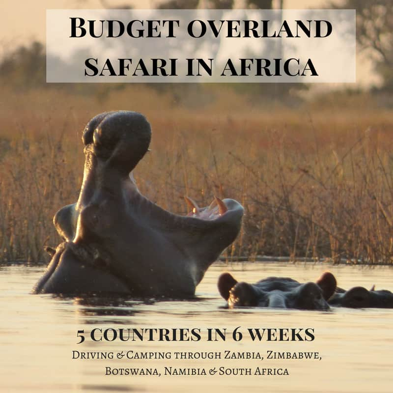 Budget Overland Safari Africa