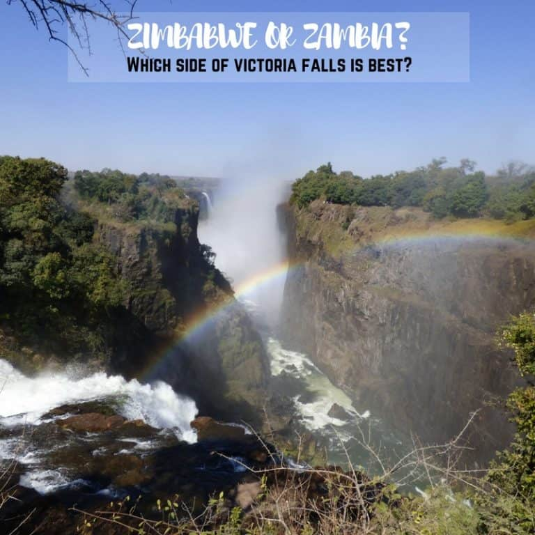 Best Place to Stay To Visit Victoria Falls Zimbabwe Zambia Which Side Victoria Falls Best