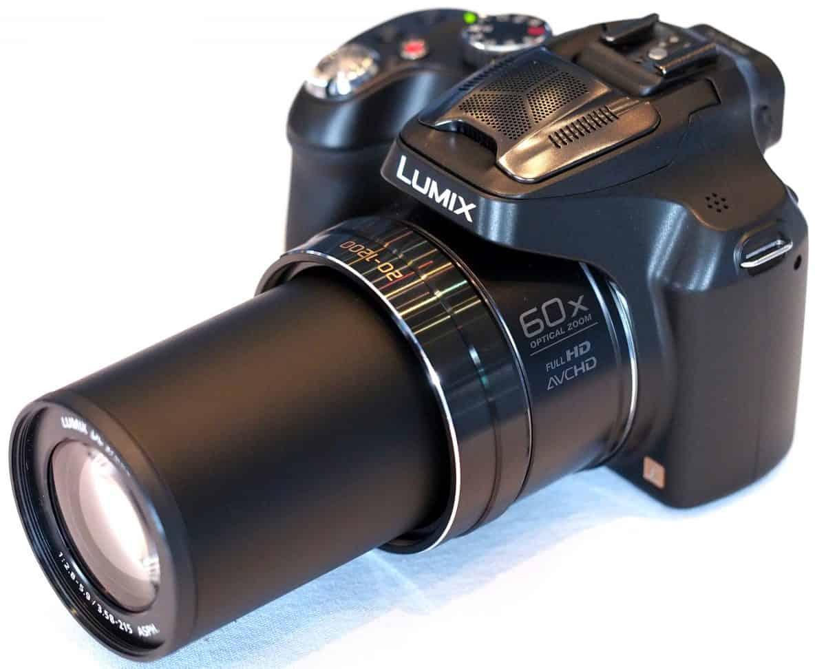Panasonic Lumix FZ70 - The Best Bridge Camera For Travel Under 400