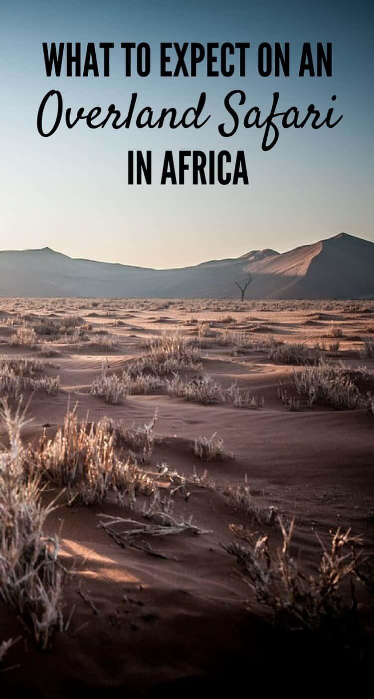 Expect Overland Safari Africa