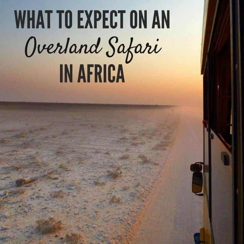 What to Expect on an Overland Safari in Africa