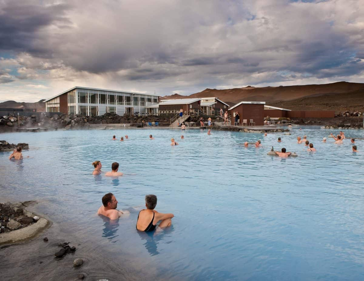 The Blue Lagoon is one of the best places to visit in Iceland