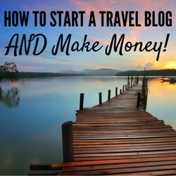 Start a Travel Blog