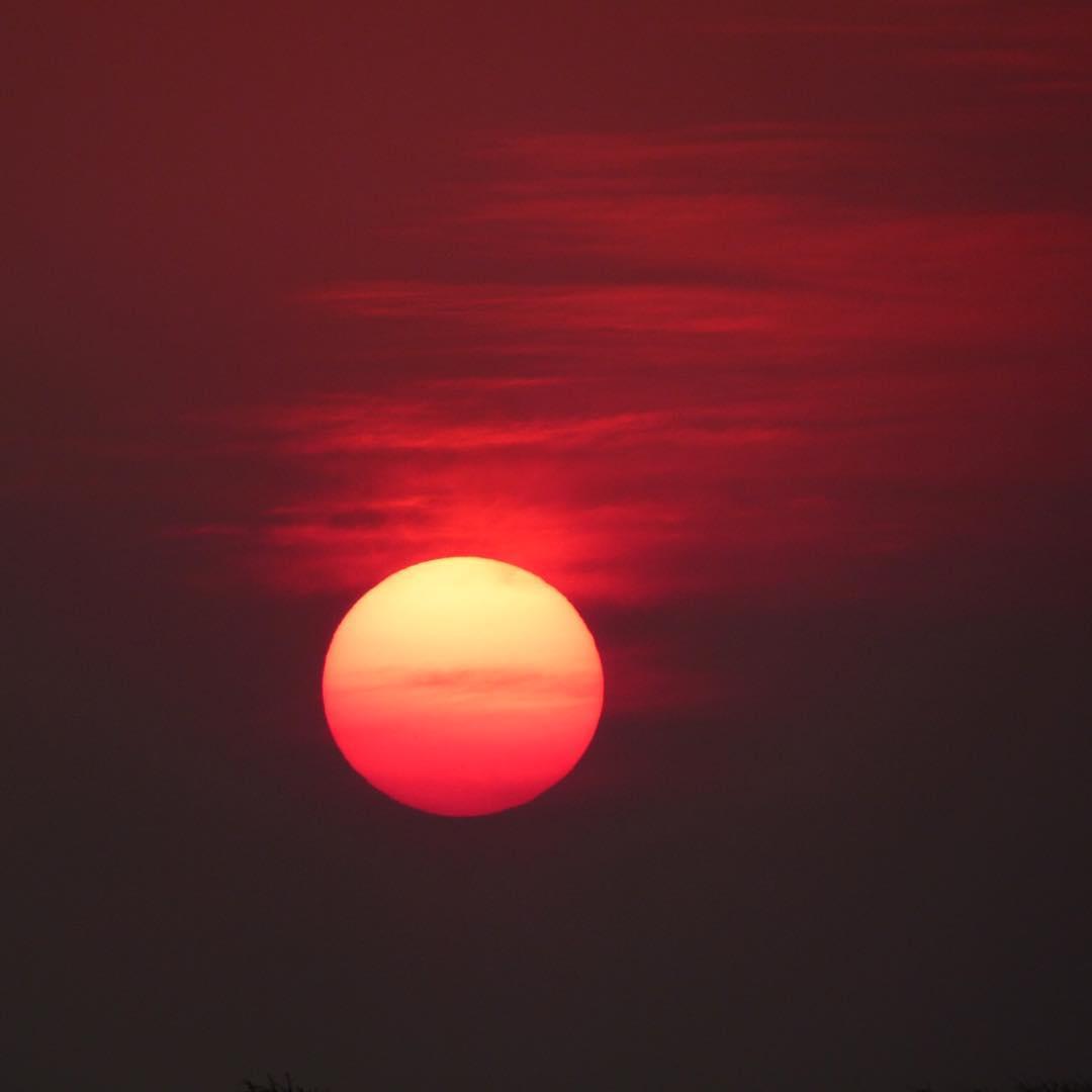 Sunset in Etosha National Park