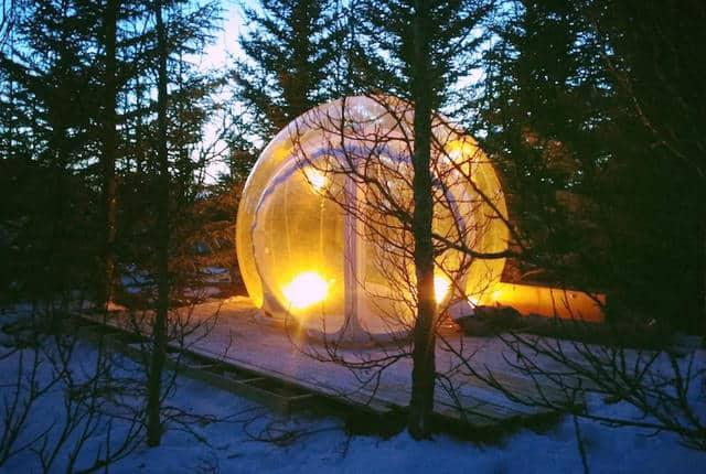 bubbel hotel iceland
