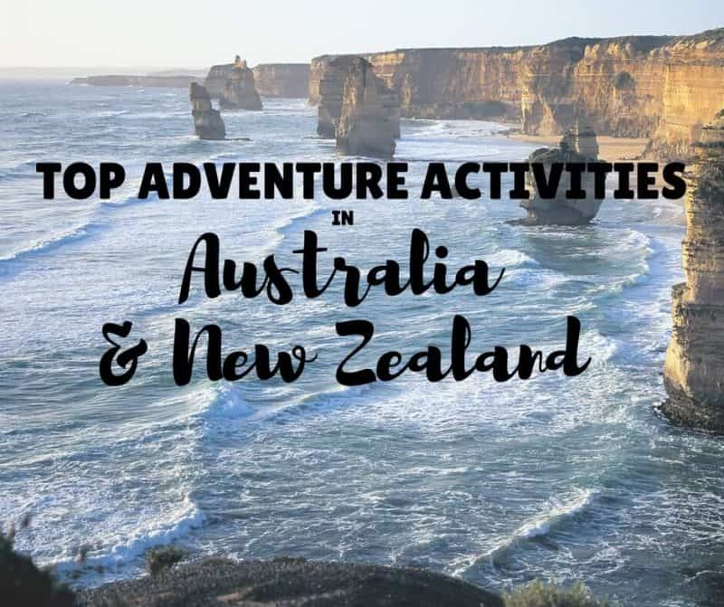 Top Adventure Activities Australia