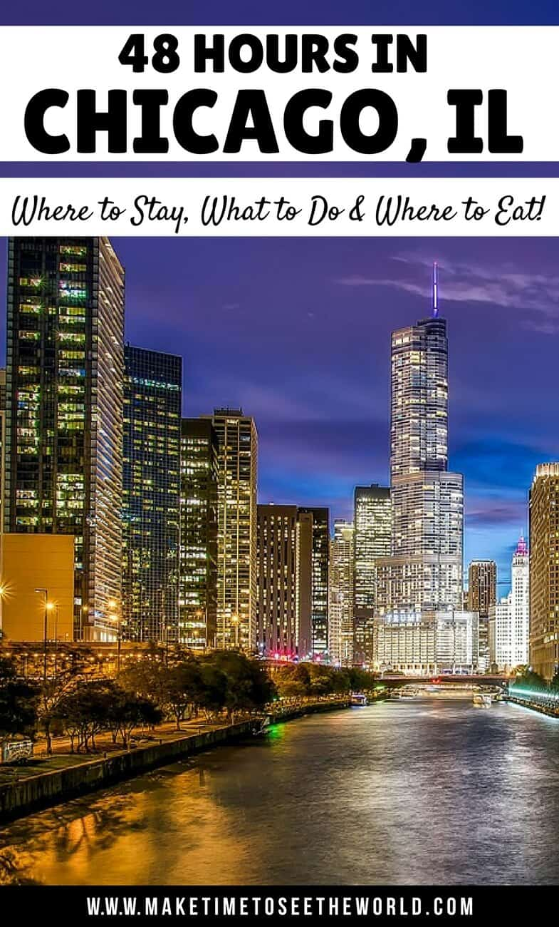 36 48 hours in chicago where to stay what to do where for Where to stay in chicago