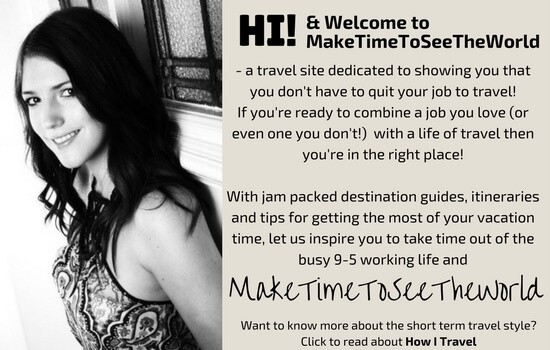 Welcome to MakeTimeToSeeTheWorld - Part time travel for busy people