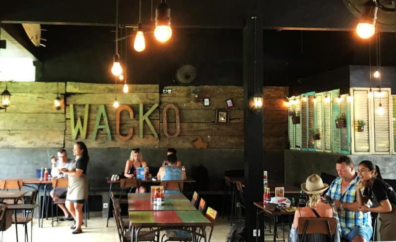 Seminyak Restaurants Wacko