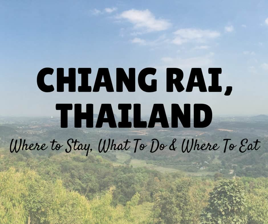 Things to do in Chiang Rai