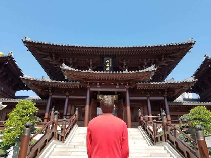 What to do in Hong Kong - visit Chi Lin Nunnery