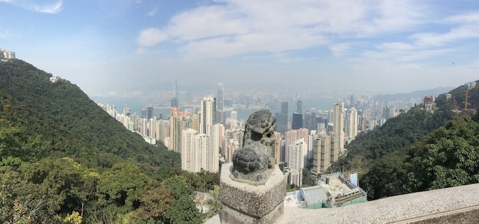 Places to visit in Honk Kong - Victoria Peak - temple street night market