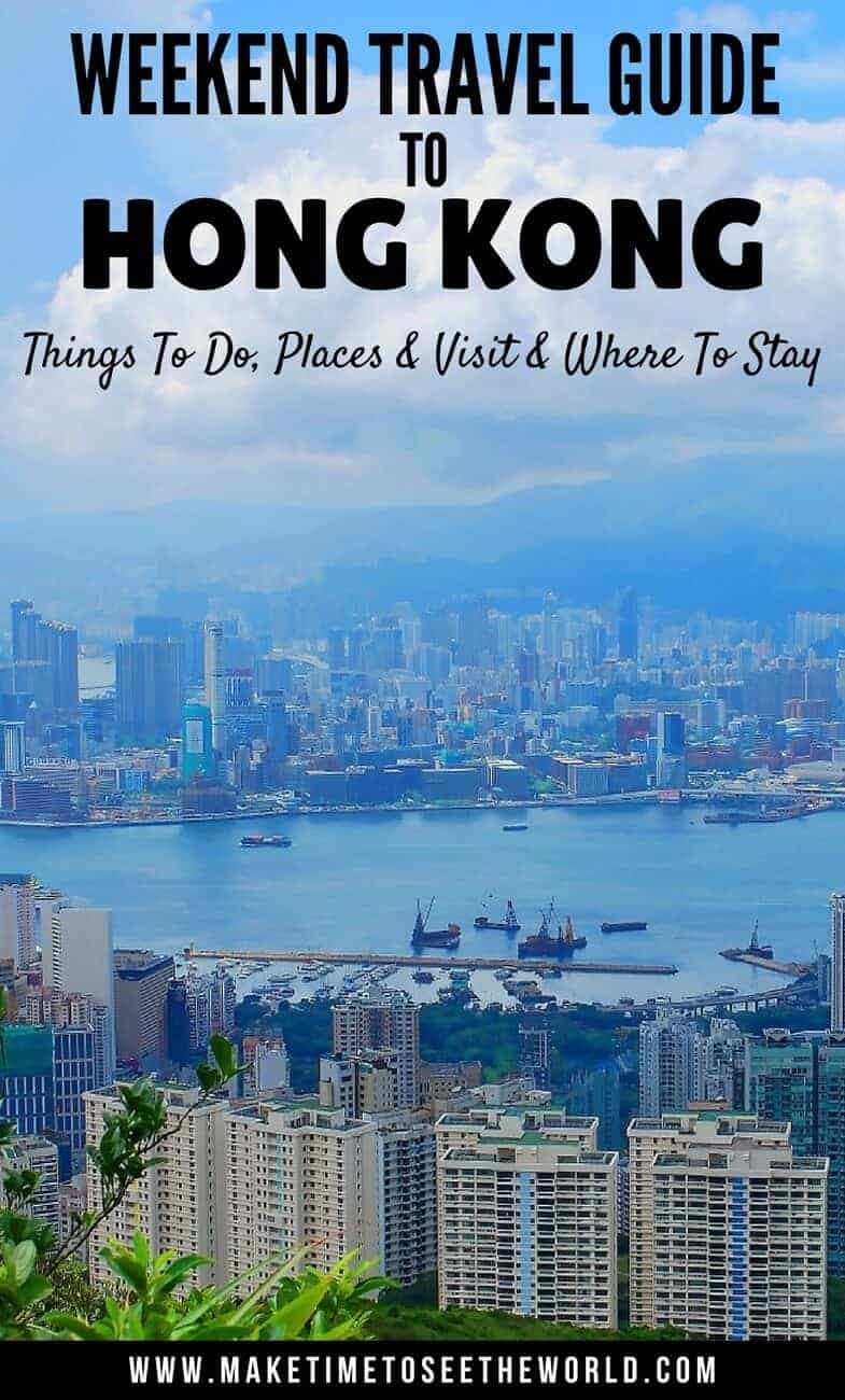 Hong Kong Points of Interest Things To Do