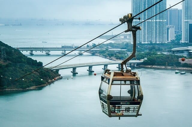 Hong Kong Points of Interest - Skyrail