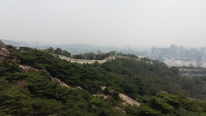 Hike in Seoul South Korea