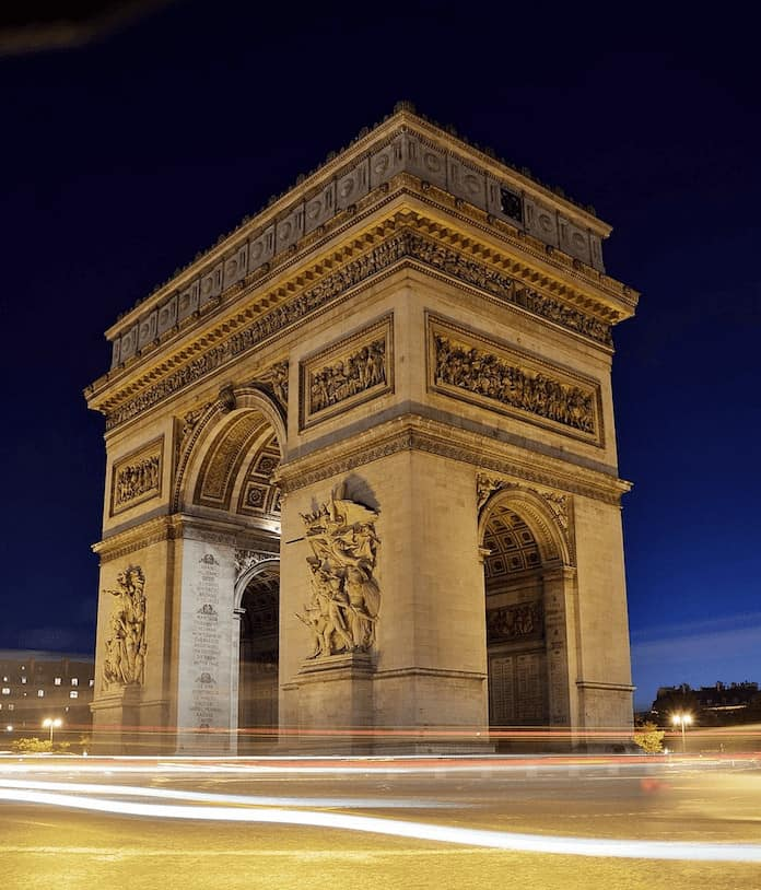 What to do in Paris - Arc de Triomphe