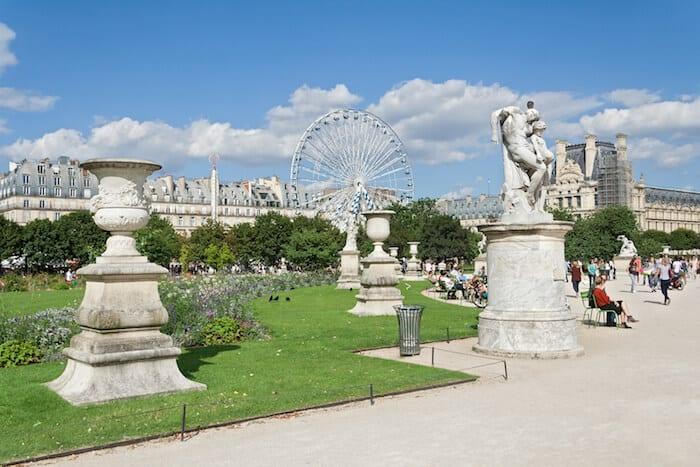 Best places to visit in Paris - Jardindes Tuileries