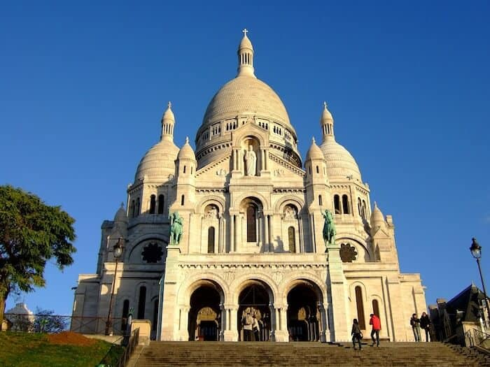Places to visit in Paris & Free things to do Paris - Basilica du Sacré-Coeur