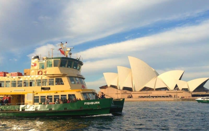 Sydney Ferry Tourist Attraction