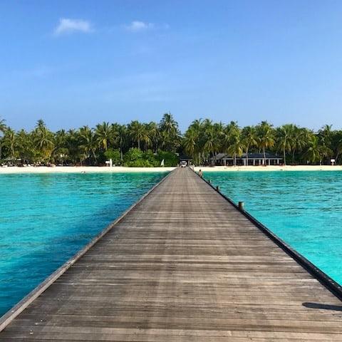 Sun Island Jetty - Sun Island, Maldives - May 2017