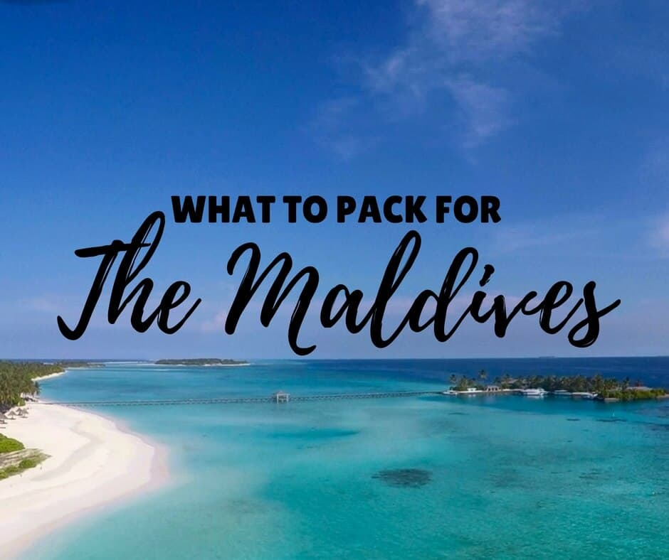 Maldives Packing List