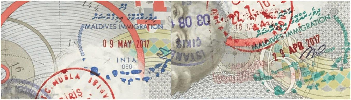 Maldives Pasport Stamp - Plan the Perfect Maldives Vacation