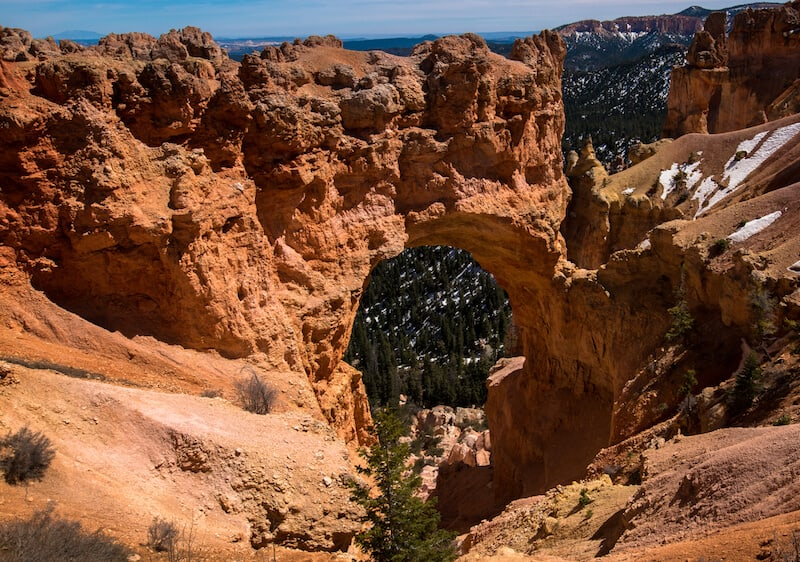 Natural Bridge Bryce Canyon NP Things To Do
