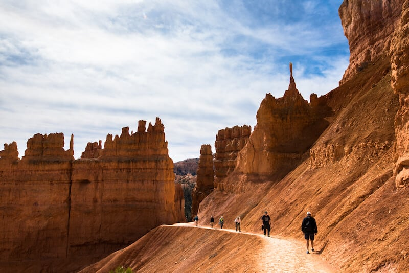 The Navajo Loop Trail - Bryce Canyon
