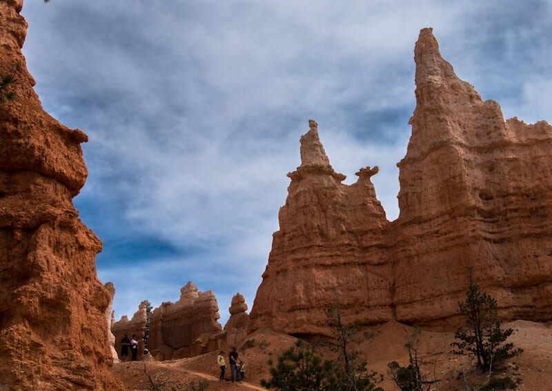 Queen Anne Rock Formation Bryce Canyon