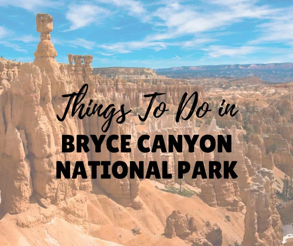 things to do in bryce canyon national park utah
