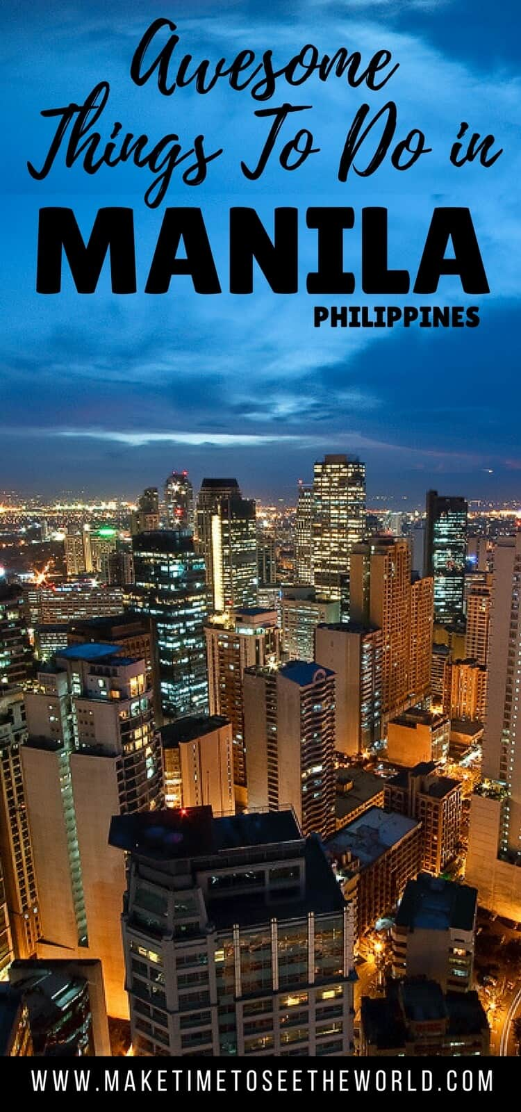 Places to visit in Manila
