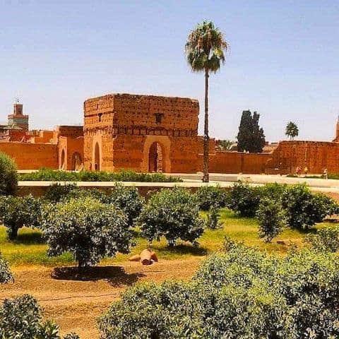EL BADI PALACE - Marrakesh, Morocco - July 2014
