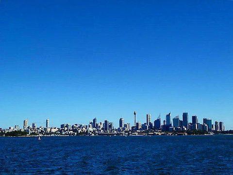 SYDNEY SKYLINE - Sydney, Australia - September 2012