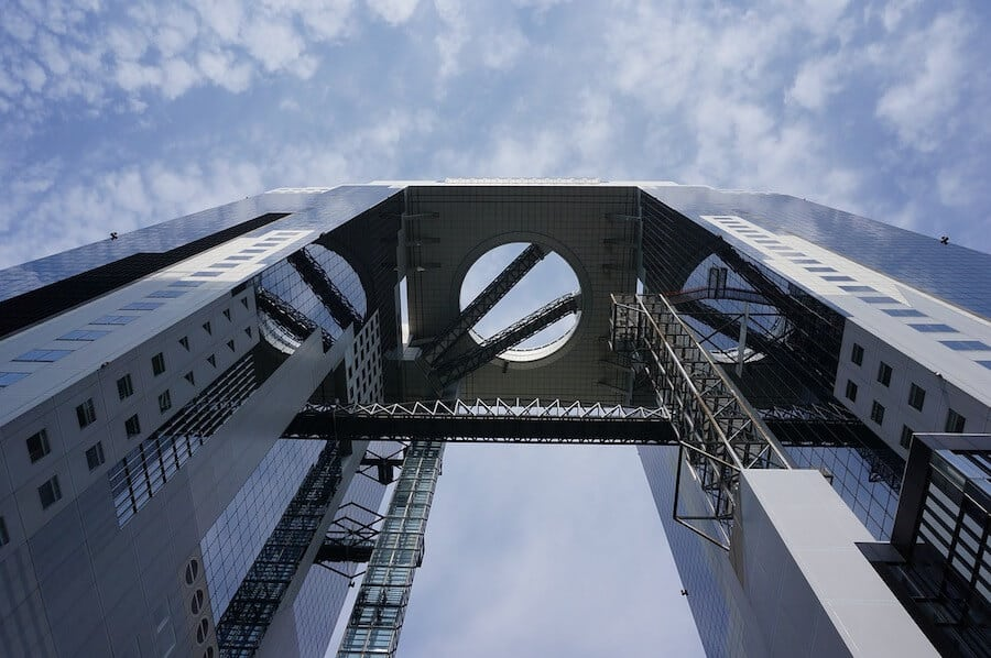 Points of Interest in Osaka - Umeda Sky building
