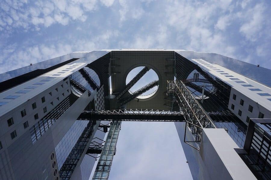 Points of Interest in Osaka - Umeda Sky building