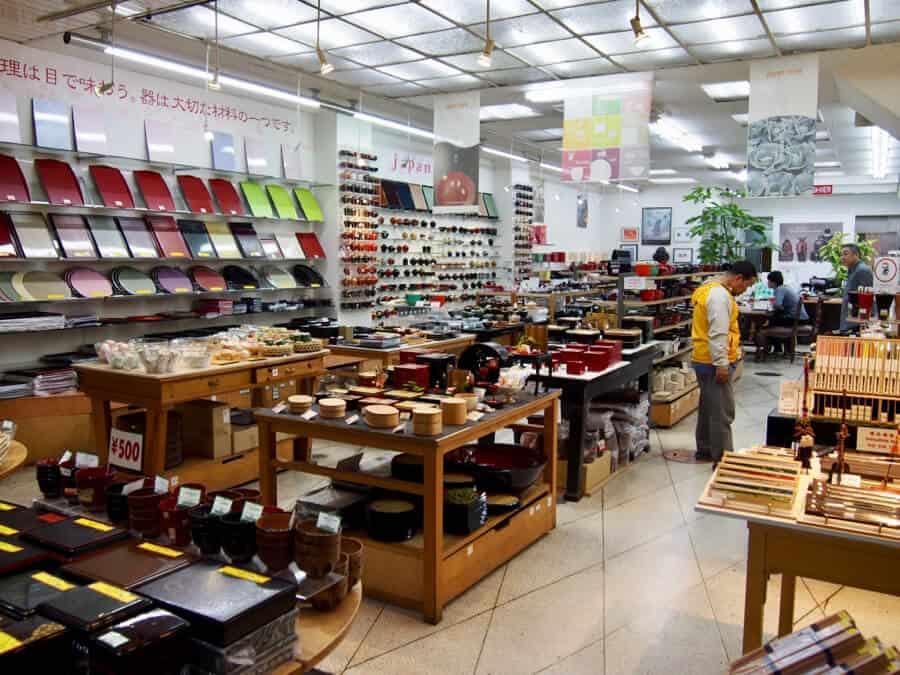 Osaka Things To Do - Shops in Shinsaibashi